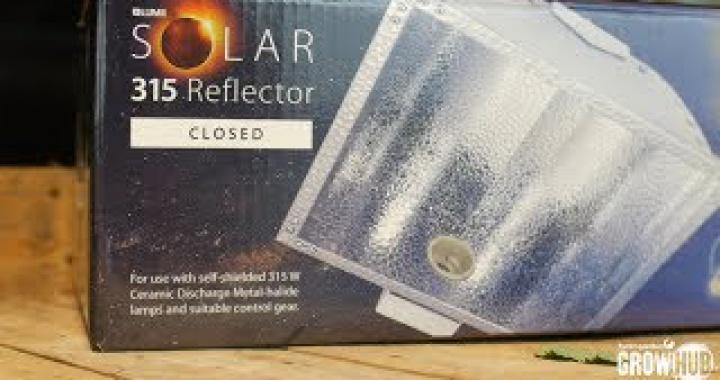 LUMii SOLAR 315 W Ballast & Reflectors