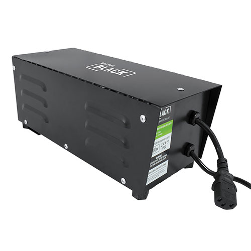 LUMii BLACK Metal-Cased Magnetic Ballast
